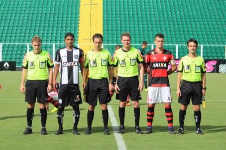 Edson da Silva, Helton Nunes, Evandro Tiago Bender, Diego Leonel Felix Foto: Lucas Gabriel Cardoso