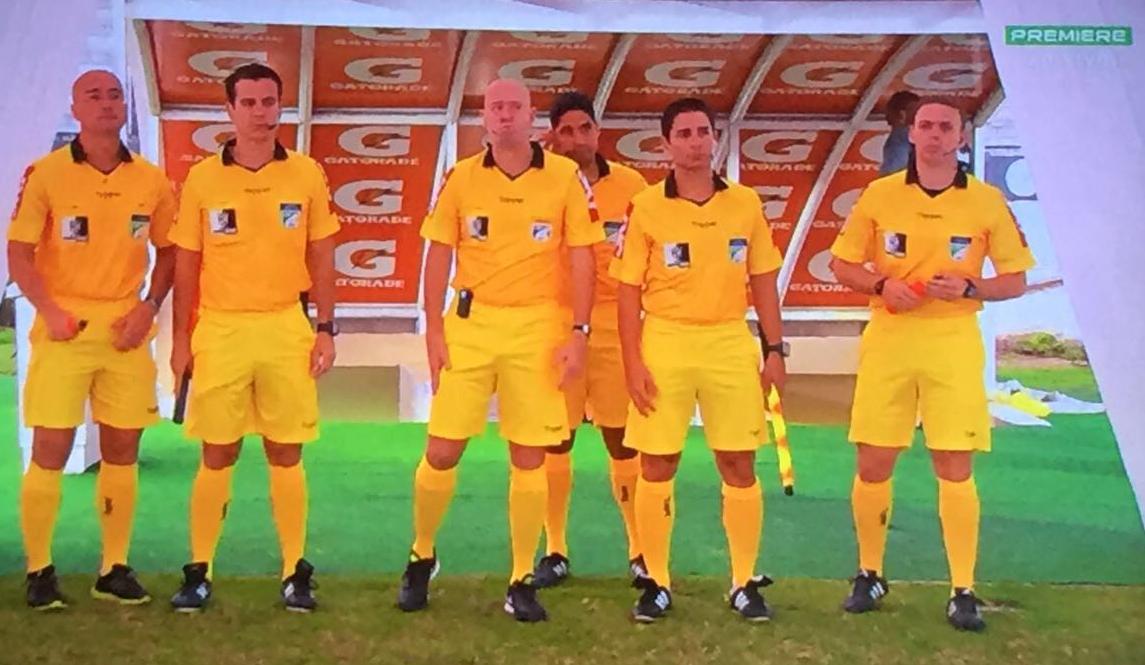 Célio Amorim, Helton Nunes, Héber Roberto Lopes, Johnny Barros, Thiaggo Labes, Edson da Silva Foto: Premiere