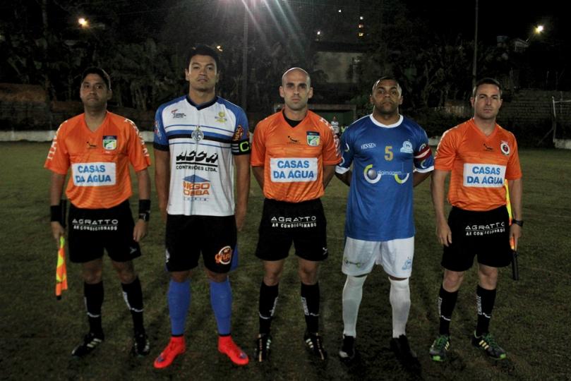 Johnny Barros de Oliveira, Fernando Henrique Miranda, Elton Cardoso Piuco. Foto: Lucas Gabriel Cardoso