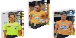 Quinteto da Partida de Ida da Final da Copa Santa Catarina