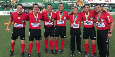 Rodrigo D`Alonso, Helton Nunes, Bráulio Machado,  Kléber Gil, Carlos Berkenbrock, Eli Alves, Rafael Traci Foto: ANAF