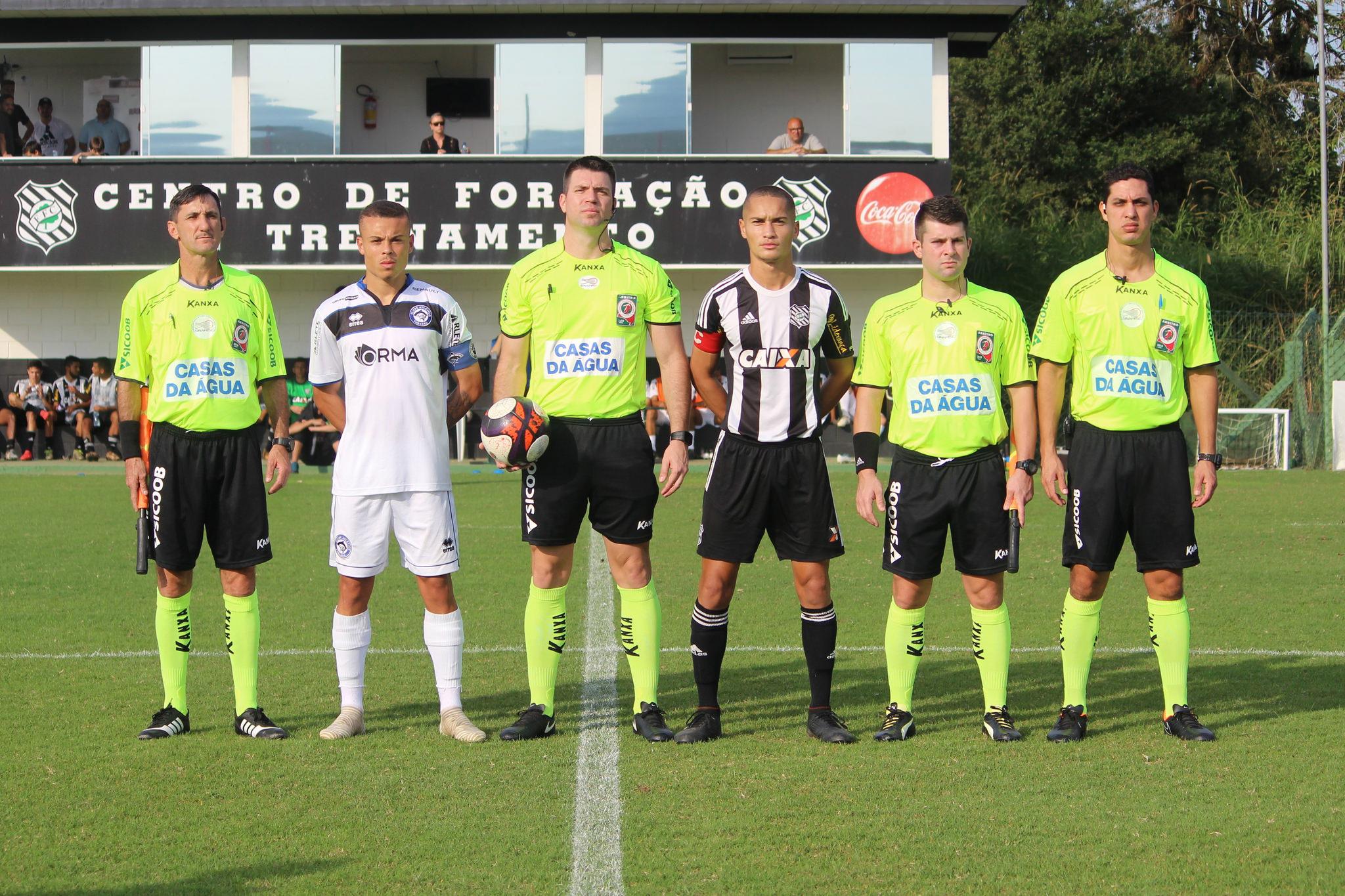 Alexandre Daraio, Mauricio Miranda, Emerson Mafra, Everton Schilling Foto: Comunicação CA Tubarão