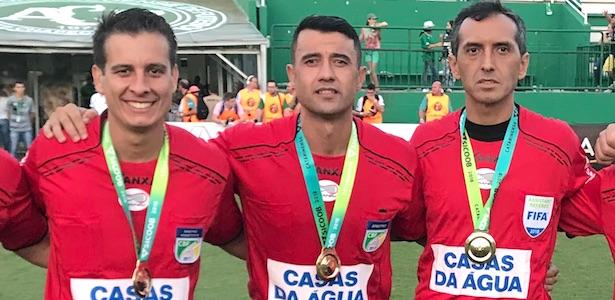 Helton Nunes, Bráulio Machado, Kléber Gil Foto: ANAF