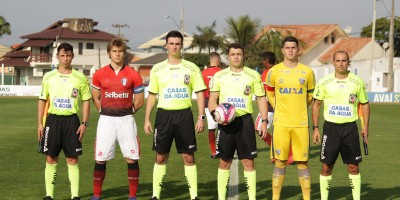 Mauro Ricardo, Diego Conceição, Dione Rodrigues, Joelio Gregorio Foto: Avaí Futebol Clube
