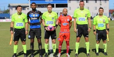 Eli Alves, Ramon Abatti, Adriano Souza, Maicon Lemos Crédito: Comunicação CA Tubarão