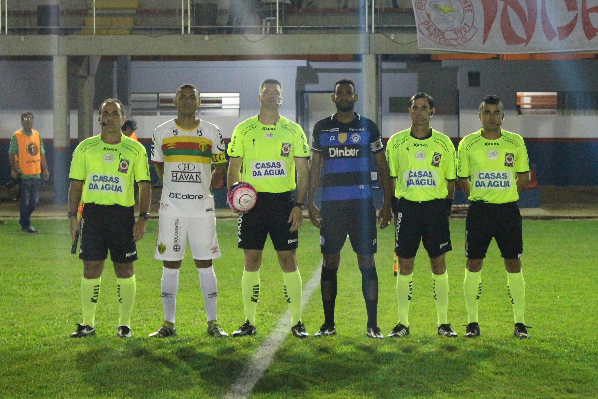 André Silveira, Maurício Miranda,  Alexandre Daraio, Tiago Soares Crédito: Comunicação CA Tubarão