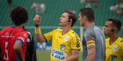 Ramon Abatti, Gianlucca Perrone Foto: Matheus Dias/FFC