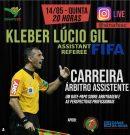 Live no Instagram desta quinta será com o FIFA Kleber Lúcio Gil